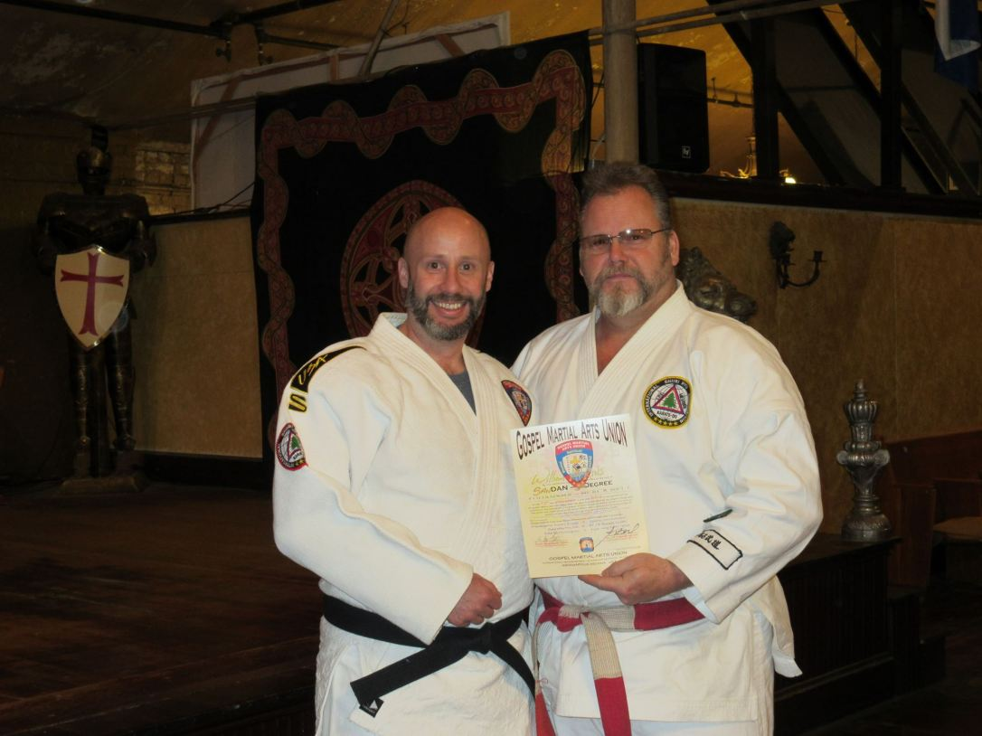 Sensei Bill with Kyoshi Russell